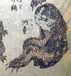 Hokusai_kappa (folklore)