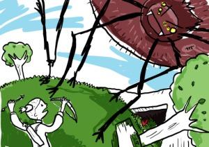 Otheigwendha battle with the Djieien