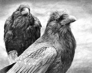 Muninn and Huginn