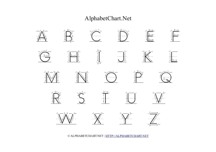 Alphabet of Arrows 1