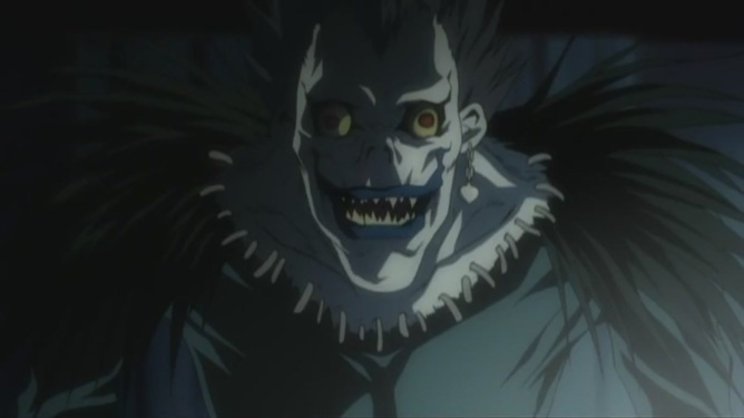 Shikigami from death note